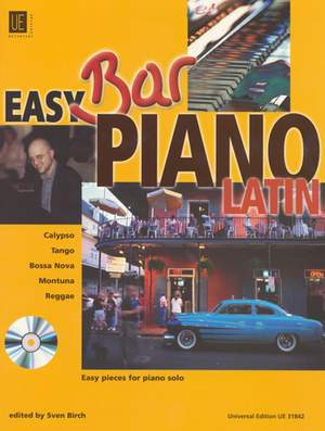 Birch Sven: Easy Bar Piano - Latin with CD