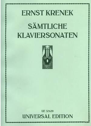 Krenek, E: Sätmliche Klaviersonaten