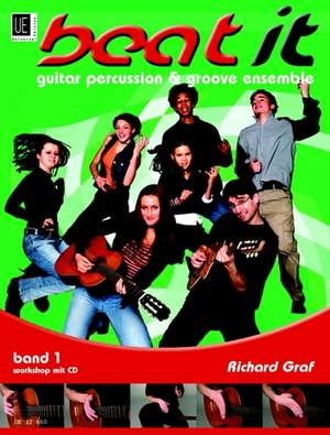 Graf, R: beat it 1 - Guitar Percussion & Groove Ensemble mit CD