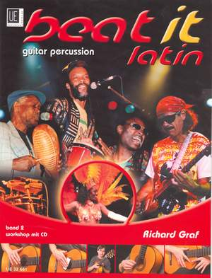 Graf, R: Beat it - Latin  Guitar Percussion with CD