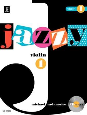 Radanovics Mich: Jazzy Violin 1 with CD Band 1