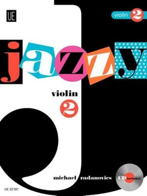 Radanovics Mich: Jazzy Violin 2 with CD Band 2