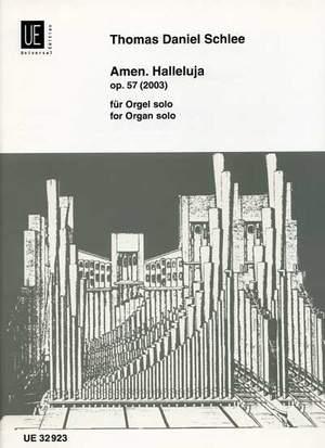 Haselböck Marti: Amen. Halleluja op. 57