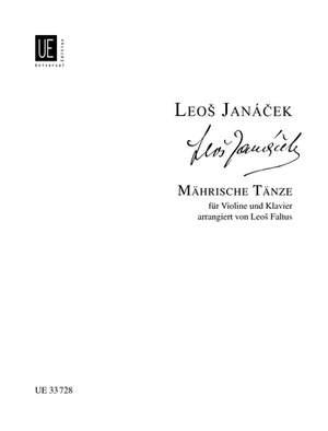 Janácek Leoš: Mährische Volkstänze