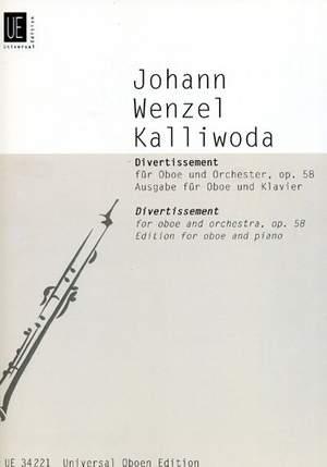 Kalliwoda: Divertissement op. 58