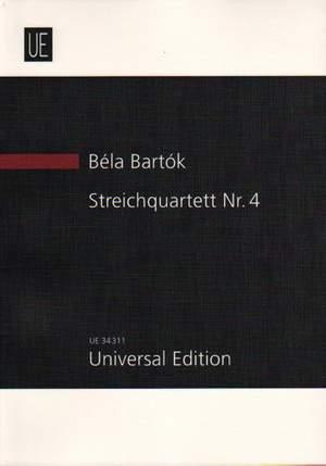 Bartók, Béla: String Quartet No. 4