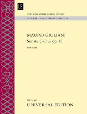 Giuliani Mauro: Sonate C-Dur op. 15 op. 15
