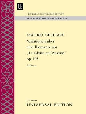 Giuliani Mauro: Variationen op. 105