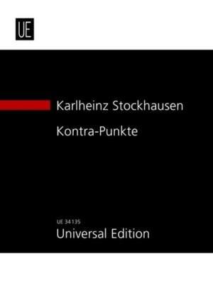 Stockhausen, K: Kontra-Punkte