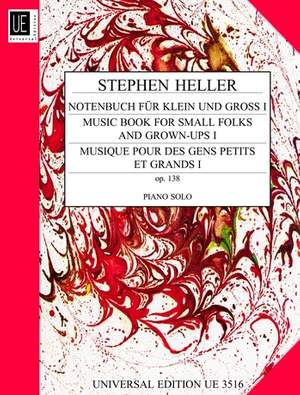 Heller, S: Musicbook for small folks and grown-groups op. 138 Band 1