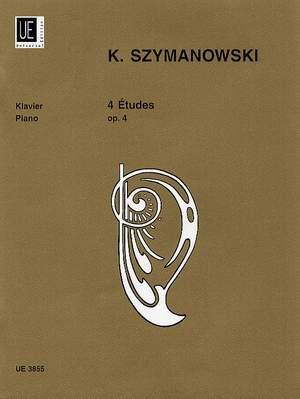 Szymanowski, K: 4 Etudes op. 4