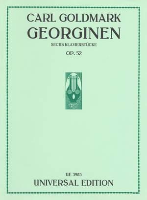 Goldmark, C: Georginen op. 52