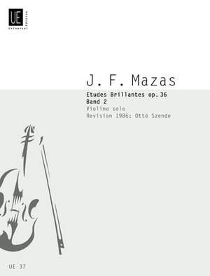 Mazas, J: Mazas Etudes Brillantes Op36/2 S.vln Op. 36 Band 2