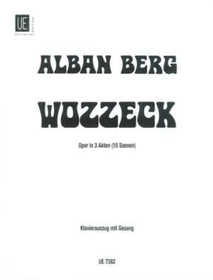 Berg, A: Wozzeck Vocal Score Op. 7