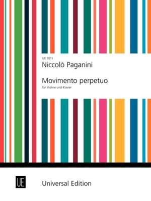 Paganini, N: Movimento perpetuo