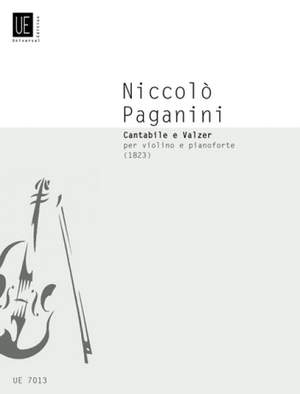 Paganini, N: Cantabile and Waltz