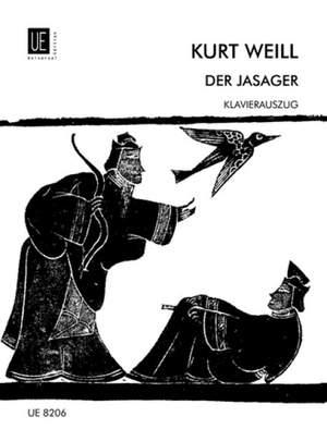 Weill, K: Das Jasager Vocal Score
