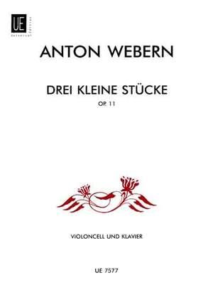 Webern, A: 3 little Pieces op. 11