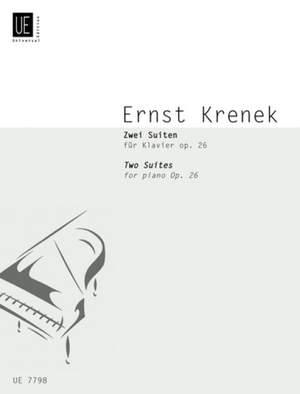 Krenek, E: Two Suites Op.26