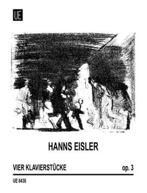 Eisler, H: Klavierstucke Op.3