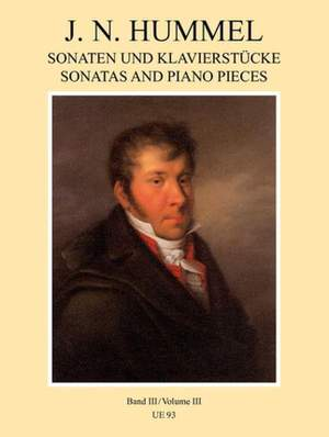 Hummel: Piano Works Volume 3