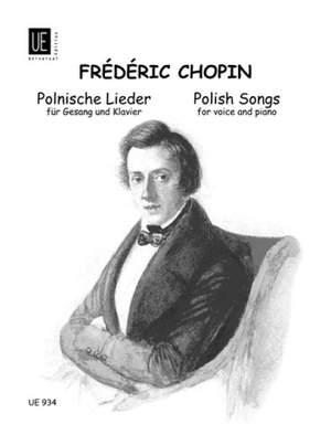 Chopin, F: Polnische Lieder
