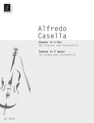 Casella Alfredo: Casella Sonate Cmaj Vc Pft Op. 45