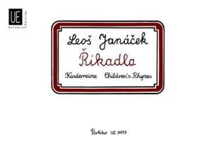 Janácek, L: Childrens Rhymes Vocsc