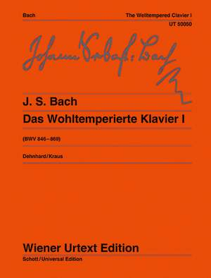 Bach, J S: The Well Tempered Clavier BWV 846-869 Teil I