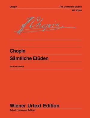 Chopin, F: The Complete Etudes op. 10 + 25