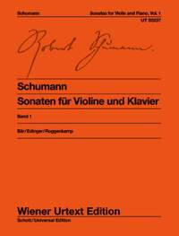 Schumann, R: Sonatas for violin and piano op. 105 & op. 121 Band 1