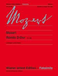Mozart: Rondo D major, K 485