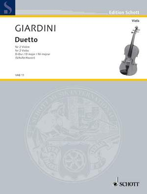 Giardini, F d: Duetto D Major Product Image