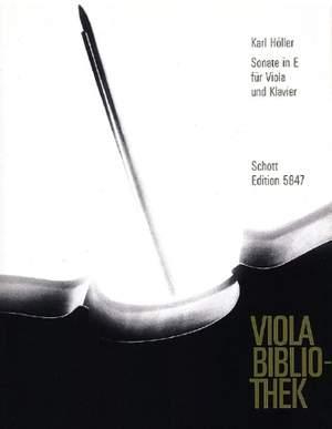 Hoeller, K: Sonata in E op. 62