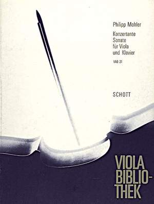 Mohler, P: Concertante Sonata op. 31
