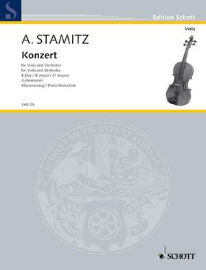 Stamitz, A: Concerto Bb Major