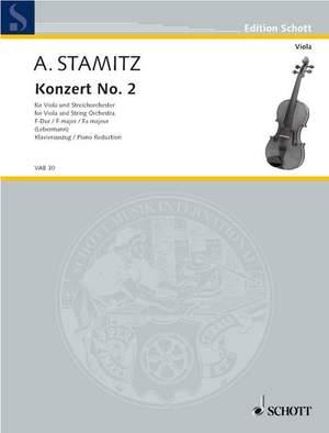 Stamitz, A: Concerto No. 2 F Major