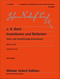 Bach, J S: Inventions and Symphonies BWV 772 - 801
