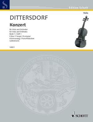 Dittersdorf, K D v: Concerto F Major Krebs 168