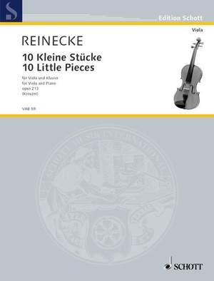 Reinecke, C: Ten Little Pieces op. 213 Product Image