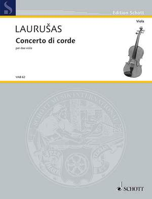 Laurušas, V: Concento di corde Product Image