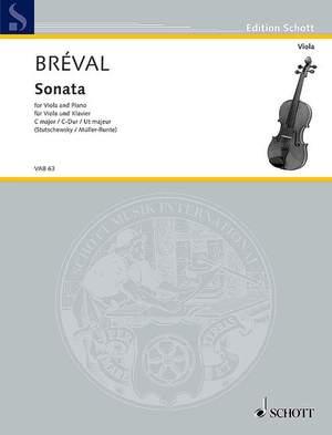 Bréval, J B: Sonata C Major