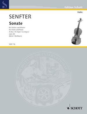 Senfter, J: Sonata A major op. 26