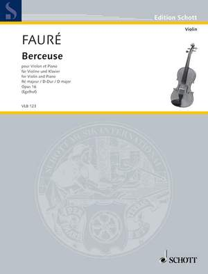 Fauré, G: Berceuse op. 16
