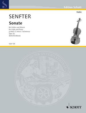 Senfter, J: Sonata G minor op. 32