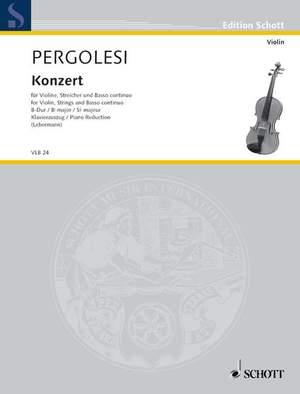Pergolesi, G B: Concerto Bb Major