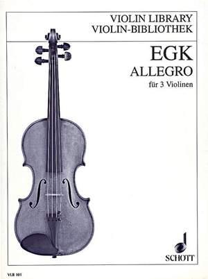 Egk, W: Allegro