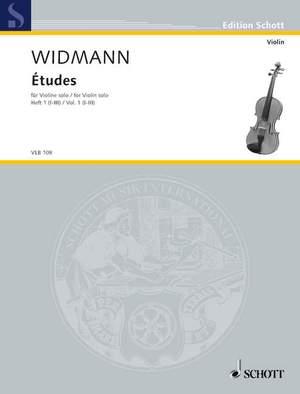 Widmann, J: Études Heft 1 (I-III)