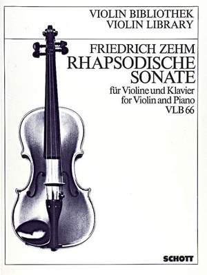 Zehm, F: Rhapsodische Sonate