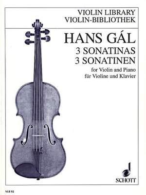 Gál, H: 3 Sonatinas op. 71/1-3